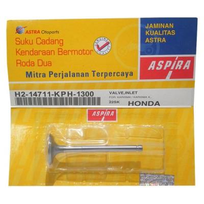 Βαλβίδα εισαγωγής ASPIRA HONDA ANF INNOVA 125