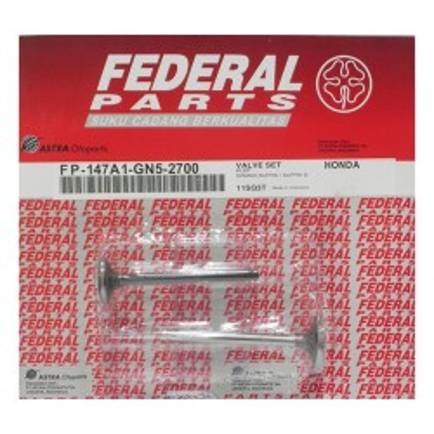 Βαλβίδες Εισαγωγής/Εξαγωγής σετ FEDERAL HONDA ASTREA GRAND 100