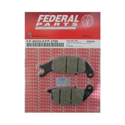 Τακάκια οπίσθια FEDERAL HONDA SUPRA-X125I HELMIN
